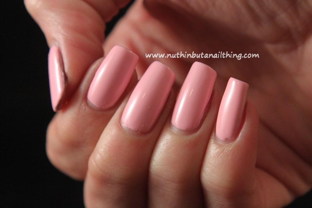 Models Own HyperGel Collection Swatches Pink Veneer
