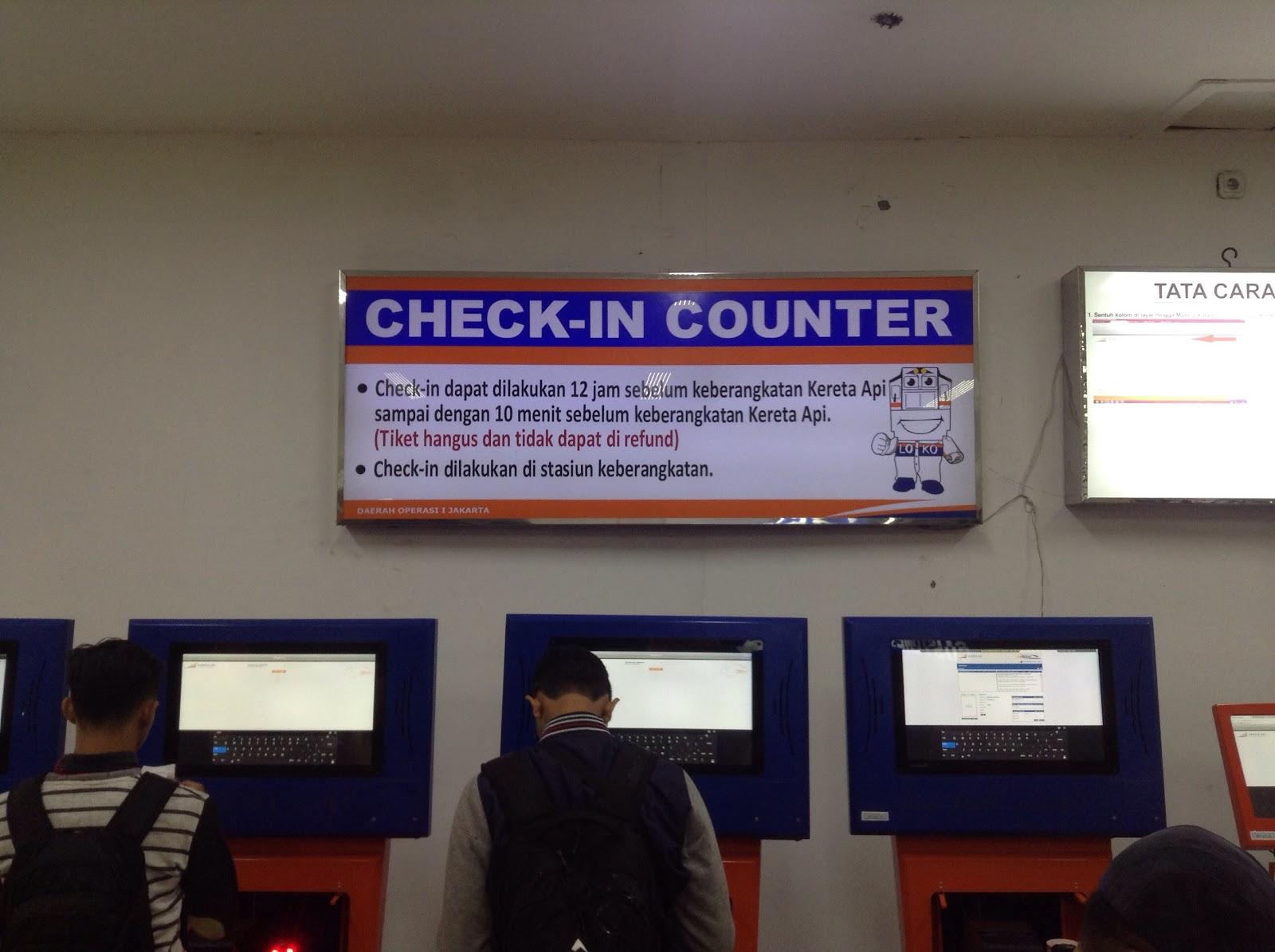 Cara Mencetak Tiket Boarding Pass Di Stasiun Pasar Senen Jakarta