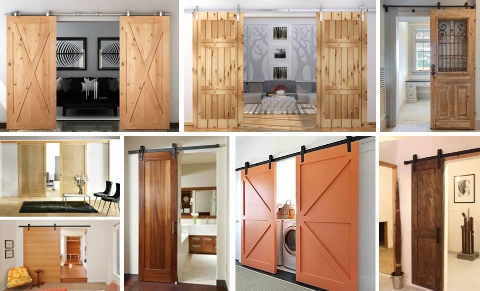 30%2BFunctional%2B%2526%2BStylish%2BSliding%2BRolling%2BDividers%2BWood%2BDoors 30 Practical & Fashionable Sliding Rolling Dividers Wooden Doorways Interior