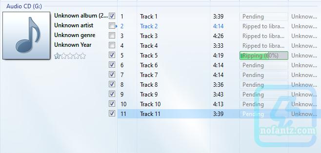 Cara convert VCD audio ke Mp3