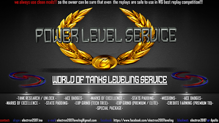 WORLD OF TANKS LEVELING SERVICE