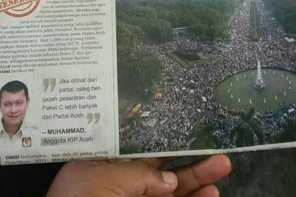 Calon Awak Peugöt Qanun Tan Sikula, Hoe Taba Nanggroe Apa?