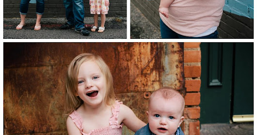 Downtown McKinney Family Portraits: The Boltons