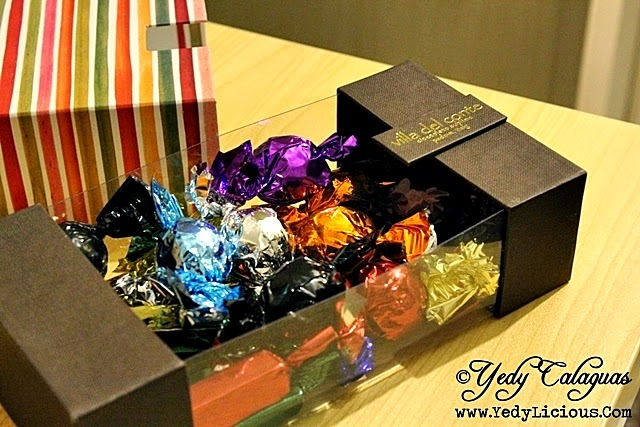Different Flavors of Villa Del Conte Chocolates