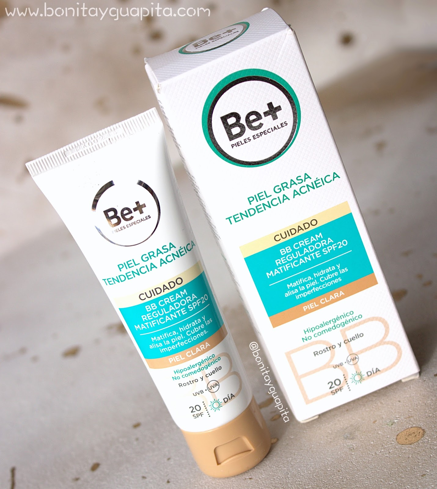 Be+ BB Cream reguladora matificante SPF20