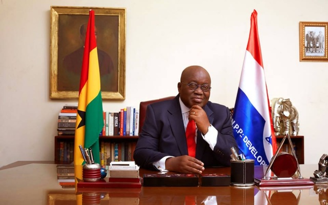 Akufo-Addo's total ministers are now 110