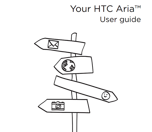 HTC ARIA USER MANUAL