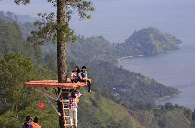 Lokasi Bukit Indah Simarjarunjung