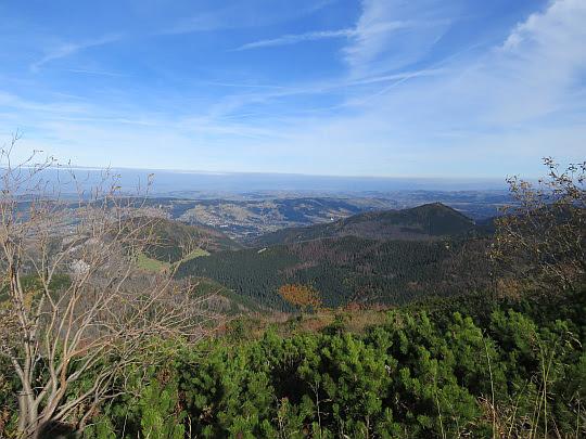 Widok w stronę Kotliny Zakopiańskiej
