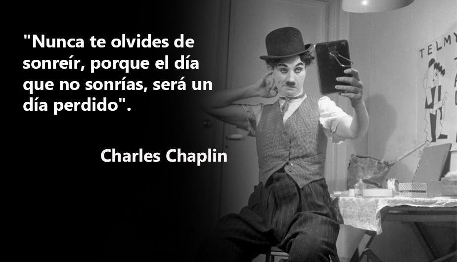 Las Más Hermosas Frases Y Poemas De Charles Chaplin