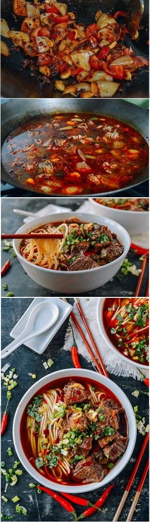 ★★★★☆ 7561 ratings | SPICY BEEF NOODLE SOUP #HEALTHYFOOD #EASYRECIPES #DINNER #LAUCH #DELICIOUS #EASY #HOLIDAYS #RECIPE #SPICY #BEEF #NOODLE #SOUP