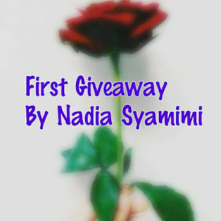 First Giveaway By Nadia Syamimi
