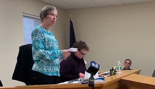 Town clerk Sherrie Eriksen apologizes for denying gay couple a marriage license