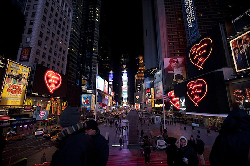 Valentine's Day in New York in February