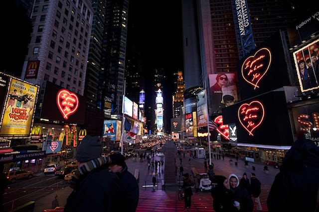 Valentine's day in New York