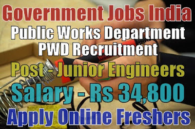 PWD Recruitment 2019