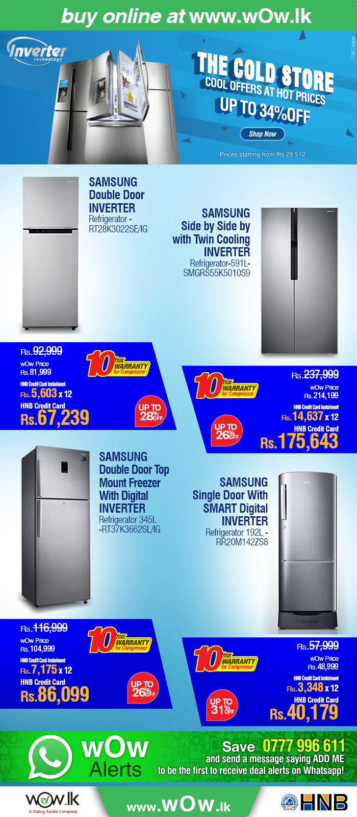 http://www.wow.lk/mall/buyonline/home-appliances-refrigerators/?Ns=sku.inventoryAvailability%7C0&utm_source=dailymail&utm_medium=newsletter&utm_campaign=fridgesalethematic