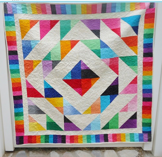 Anasazi Medallion Quilt designed by Shannon Mower from Modern Tradition Quilts for Modabakeshop