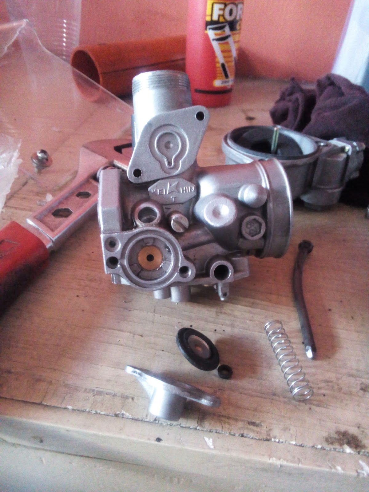 Honda Wave 125 Carburetor To Gy6 Modified How It Rusi Motorcycle 125cc Wiring Diagram Works
