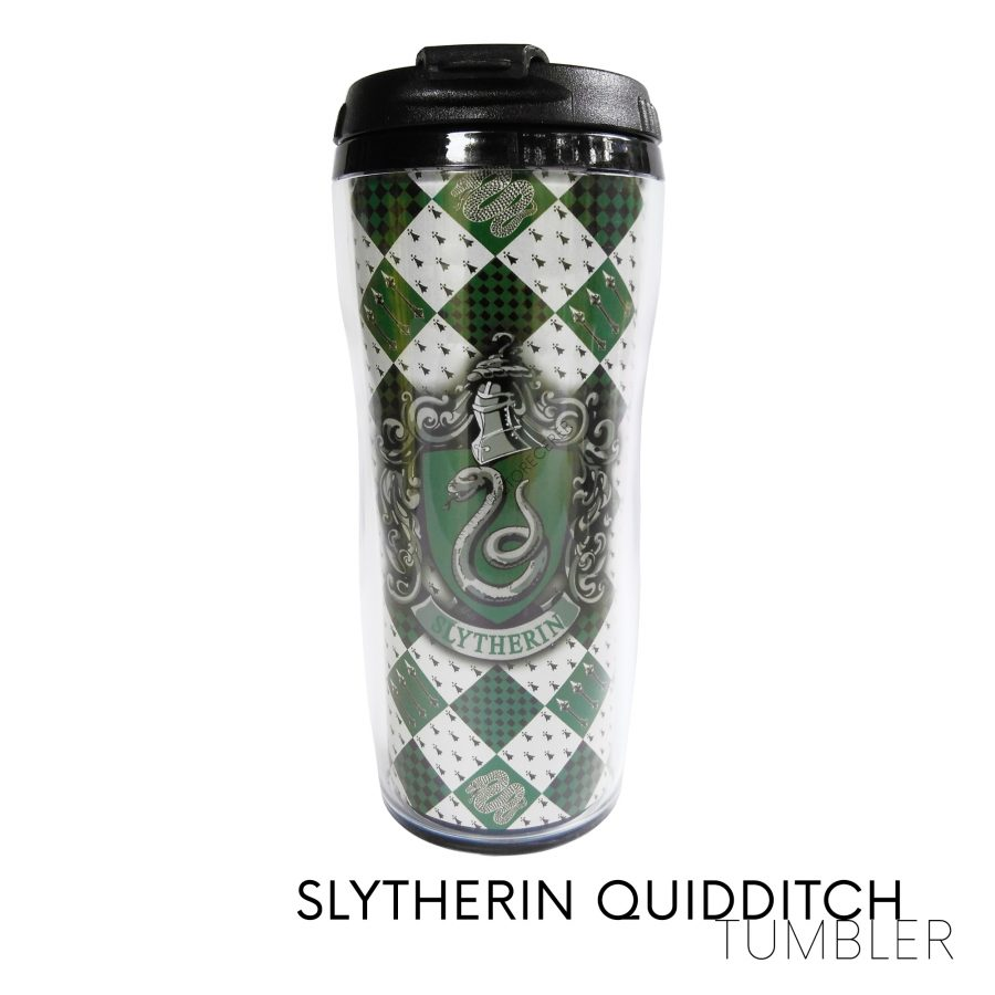 Tumbler Slytherin Quidditch