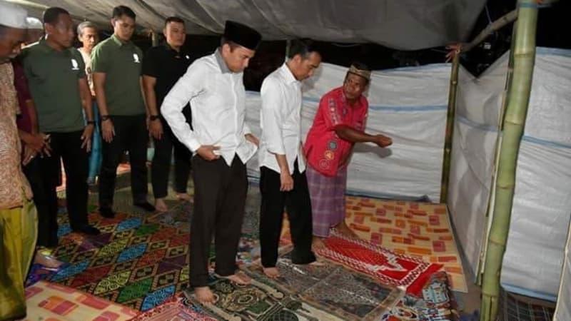 Kesaksian TGB Tentang Bacaan Jokowi Saat Jadi Imam Sholat Maghrib