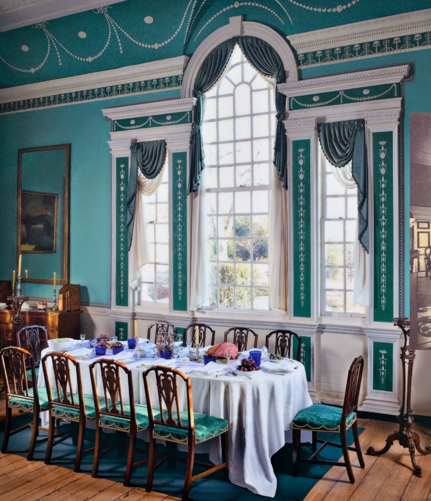 Mount Vernon Dining Room: Full Time RV Travels Of Jackie And Randy: Learning About