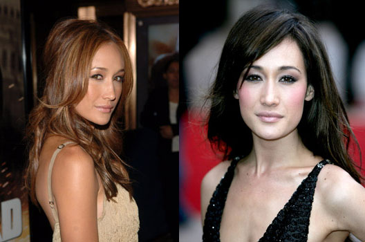 Maggie Q Hairstyle: Passion Of Beauty: I ♥ Brunette
