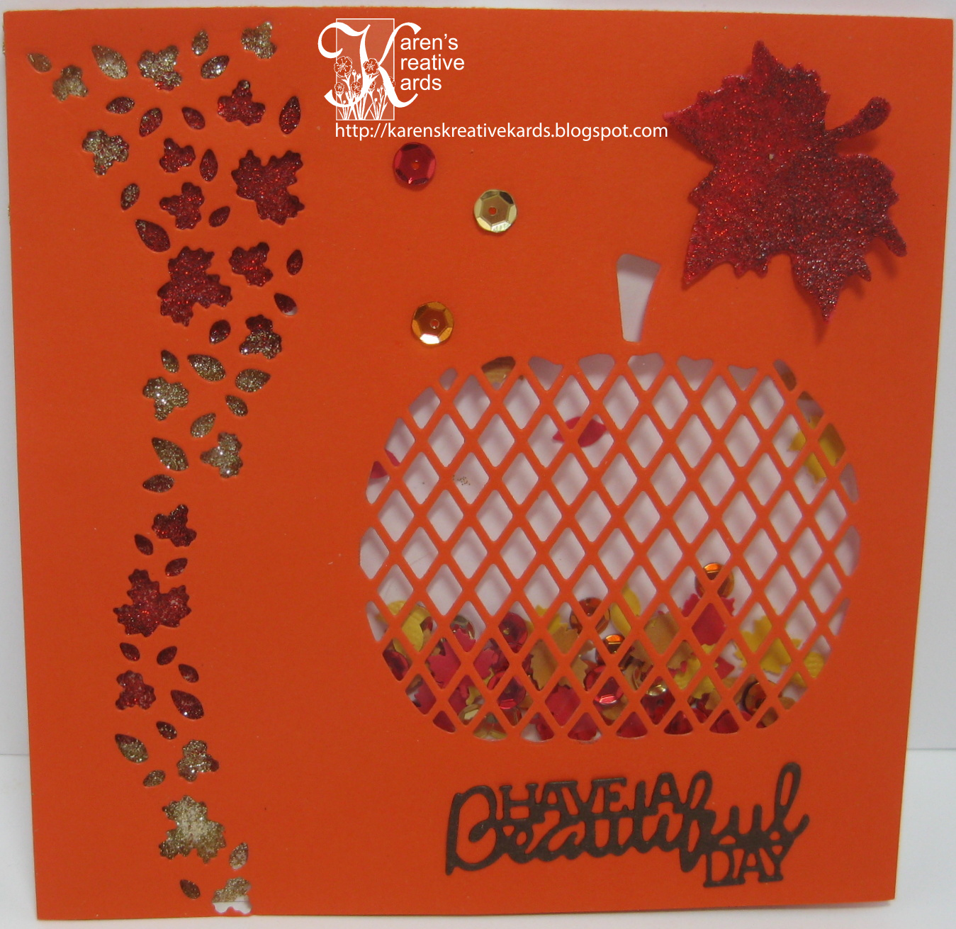 I Love Making Fall Cards And When I Saw The New Poppy Stamps Carved Diamond  Pumpkin And Leafy Breeze Border Dies Recently Released, There Was No  Resisting ...