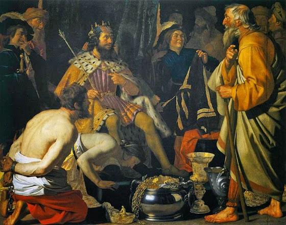 Η περίφημη φράση του Σόλωνος στον Κροίσο «μηδένα προ του τέλους μακάριζε»