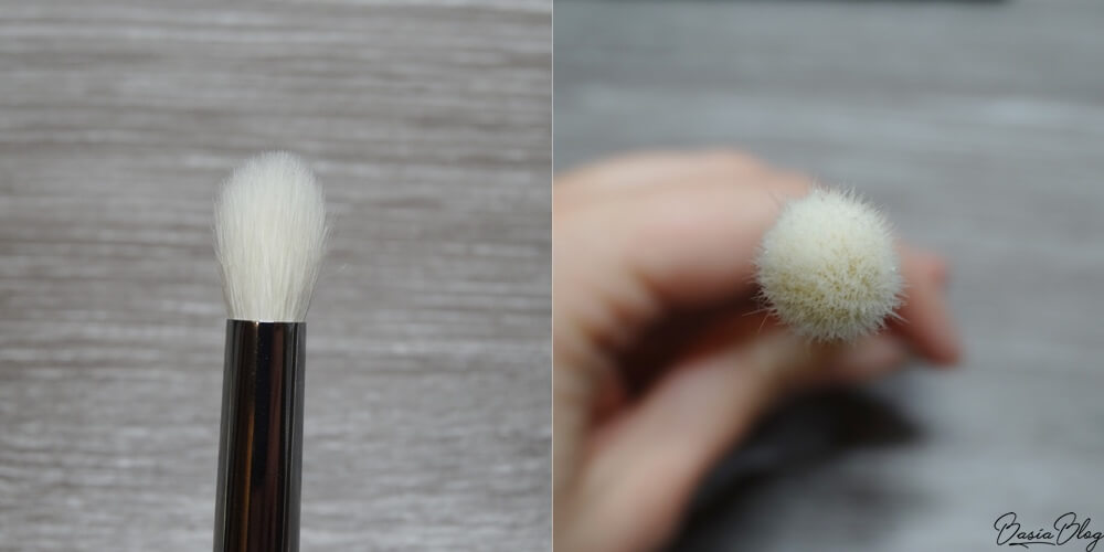 Zoeva 231 Luxe Petit Crease pędzel do aplikacji cienia i rozcierania blendowania