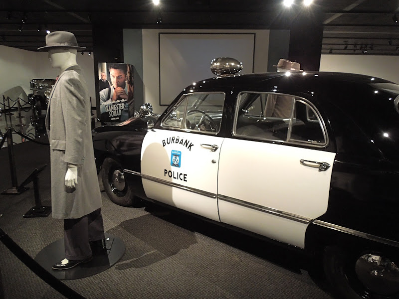 Gangster Squad movie costume 1950 Ford custom sedan police car