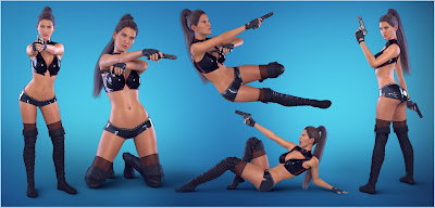 Z Hand Gun and Poses