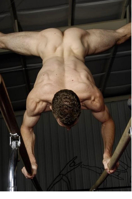 Naked gymnastics men