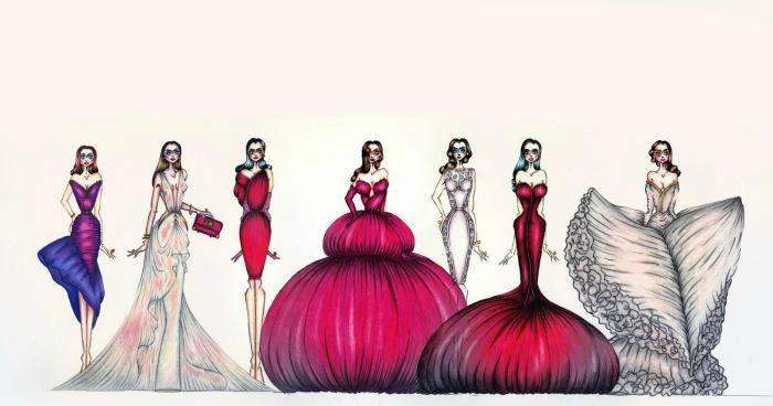 Moda dibujos for Dibujos de disenos de moda