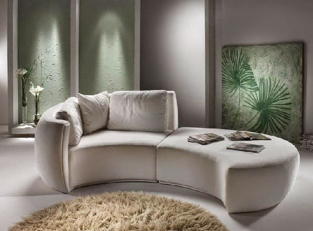 Unique Modern Italian Sofa