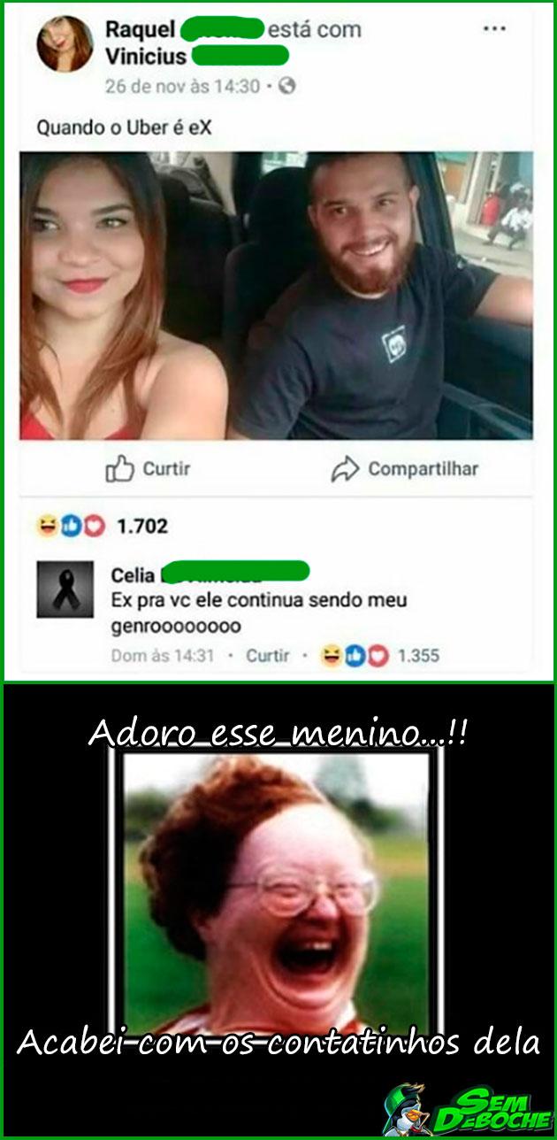 PARECE QUE A MÃE AINDA AMA O GENRO
