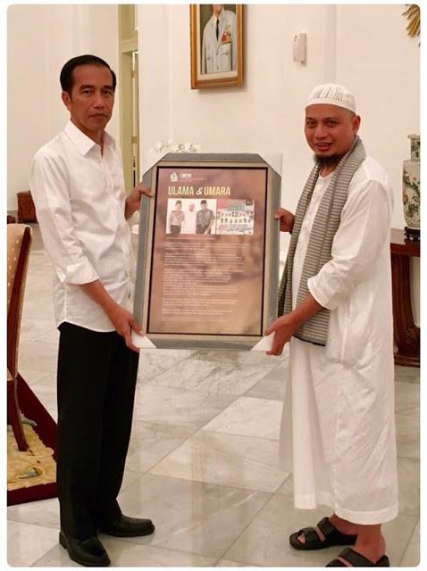 Ustadz Arifin Ilham Sambangi Istana Untuk Mengingatkan Jokowi Soal Penista Agama