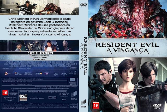 Capa DVD Resident Evil: A Vingança [Custom]