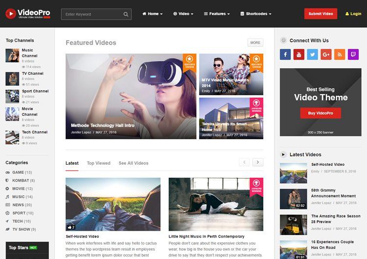 video wordpress theme - Selo.l-ink.co