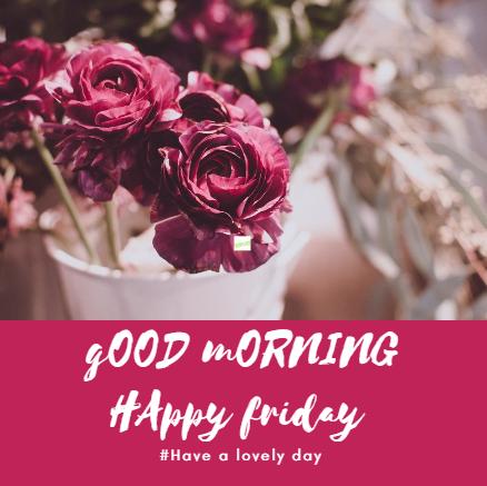 Good Morning Happy Friday Hd Image Archidev