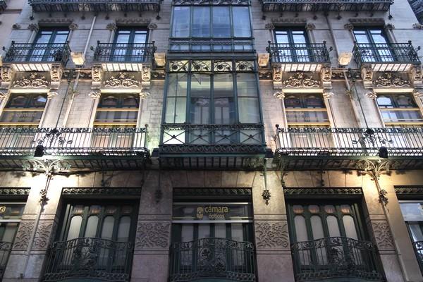 espagne saragosse art nouveau modernisme kiosque calle de alfonso