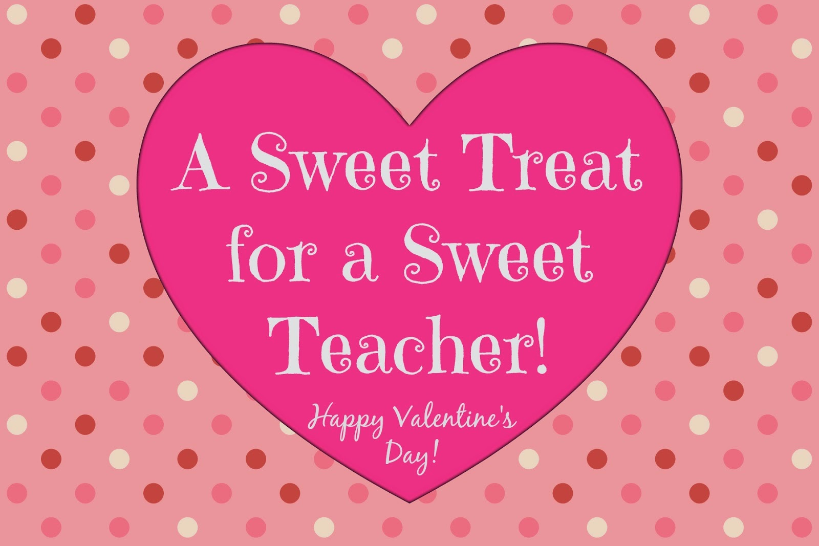 photo relating to Printable Teacher Valentine Cards Free titled East Coastline Mommy: Ultimate Second Instructor Valentines with no cost