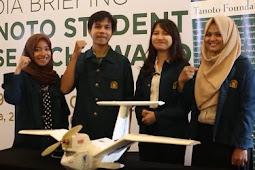 Kegiatan Tanoto Foundation Lahirkan Inovasi Pesawat Amfibi Tanpa Awak