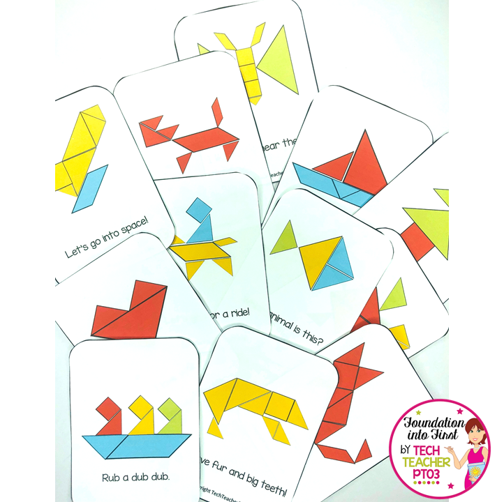 image relating to Printable Tangram named Free of charge Tangram Puzzle Card Down load Base into Initial