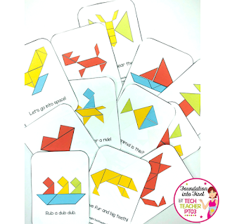 Free download - Tangram Cards. Help your students with their spacial awareness with these fun free math puzzle cards.