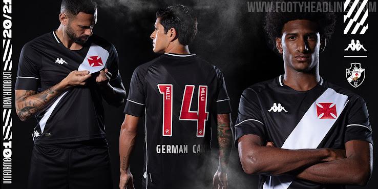 Stunning Kappa Vasco da Gama 20-21 Home, Away & Goalkeeper Kits ...