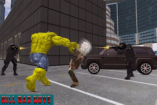 Monster Hero City Battle Apk Mod
