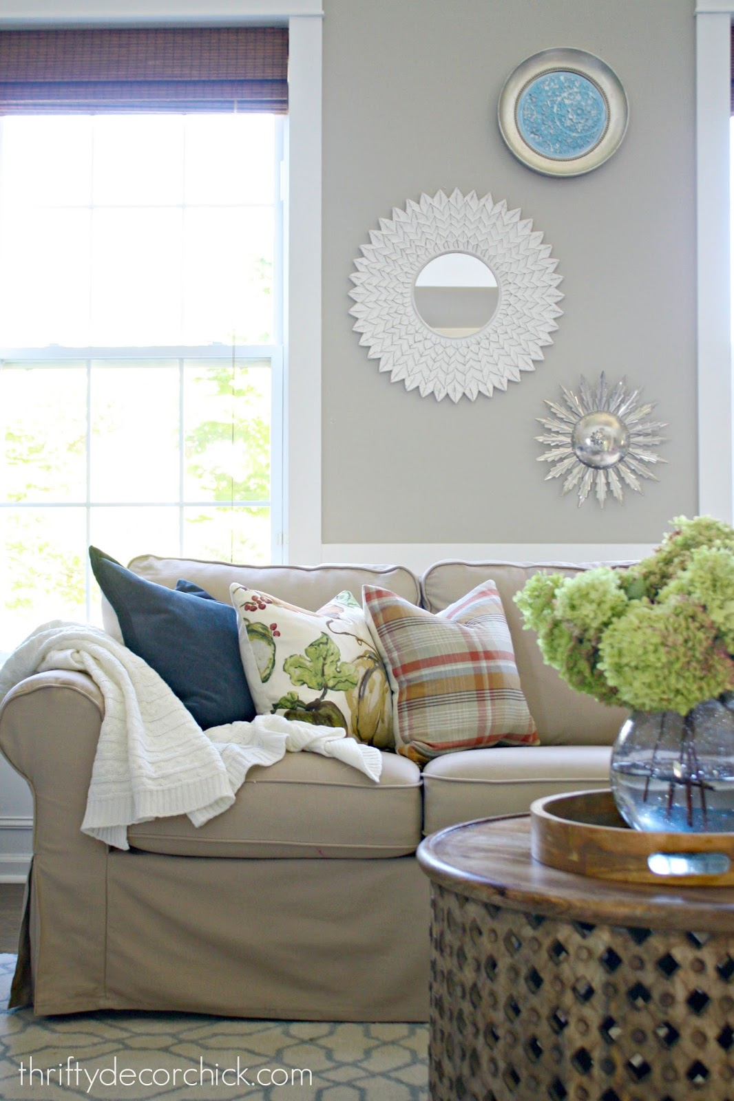 make your own Pottery Barn pillows