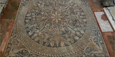 Τα ψηφιδωτά αρχαίων Μακεδόνων, στο έτος Ελλάδας– Ρωσίας