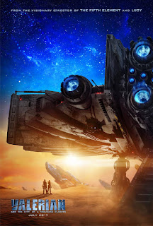 Valerian and the City of a Thousand Planets - Poster & Trailer
